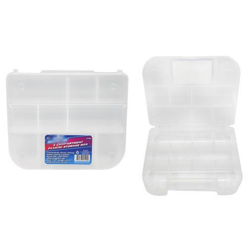 Wholesale 9 compartment plastic storage box