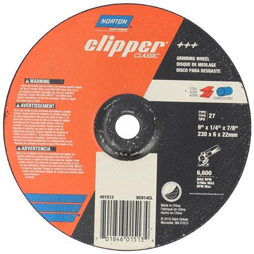Wholesale NORTON CLIPPER 9x1/4x7/8'' GRINDING WHEEL