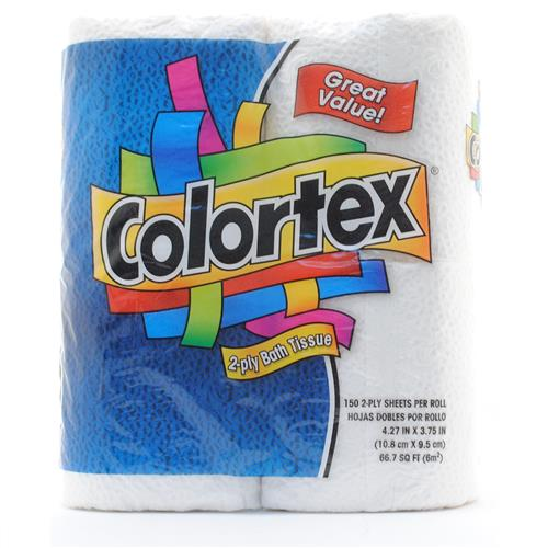Wholesale Colortex Bath Tissue 4/150/2 Ply
