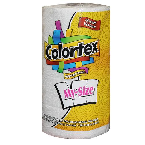Wholesale Colortex My Size 2-ply Paper Towel 140 sheets