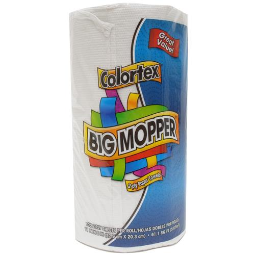 Wholesale Colortex Big Mopper 2-ply Paper Towel 100 Sheets