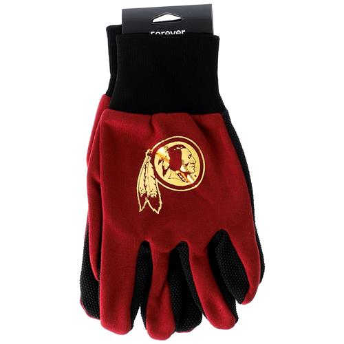 Wholesale NFL REDSKINS SPORT UTILITY GLOVES WITH DOTS