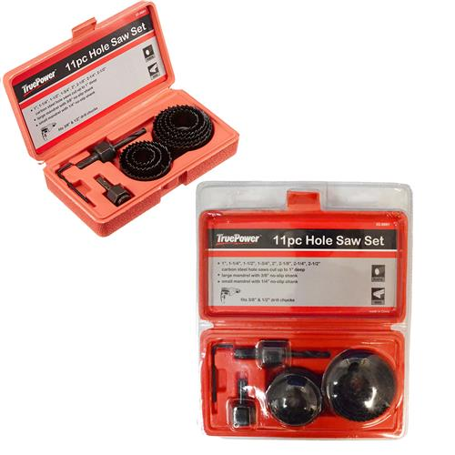 Wholesale 11PC HOLE SAW KIT IN BLOW MOLD