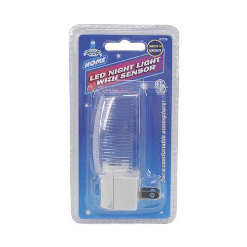 Wholesale LED NIGHT LIGHT w/SENSOR WARM WHITE