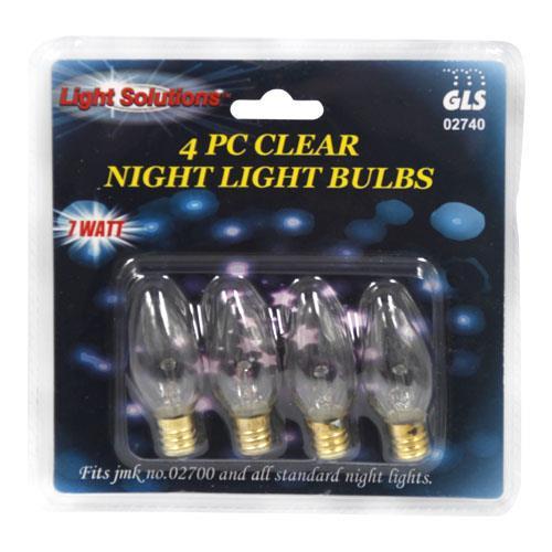 Wholesale 4pc NIGHT LIGHT BULBS