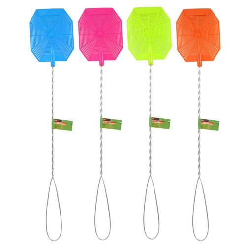 Wholesale FLY SWATTER w/ METAL HANDLE
