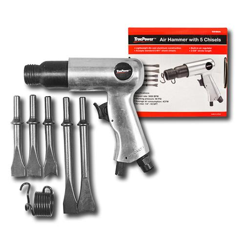 Wholesale AIR HAMMER & 5 CHISELS LONG BA