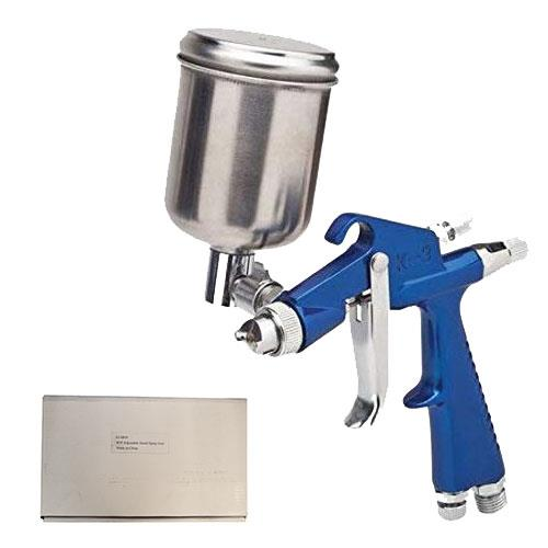 Wholesale TOUCH UP SPRAY GUN 4OZ CUP ON TOP .6MM NOZZLE
