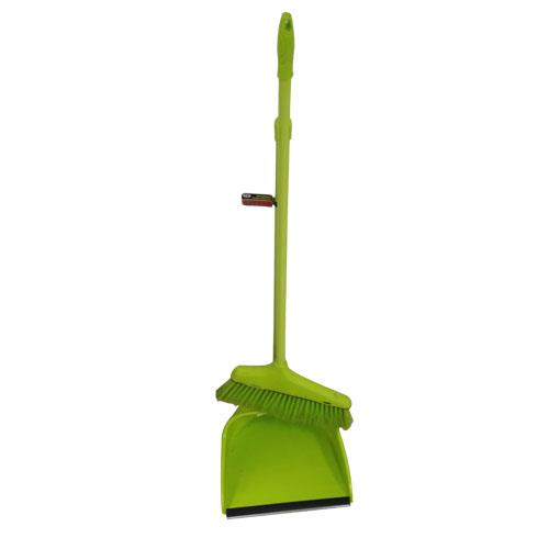 Wholesale METAL HANDLE BROOM & DUST PAN