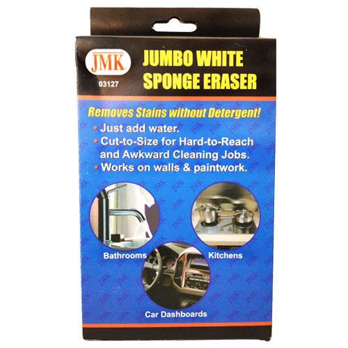 Wholesale JUMBO WHITE SPONGE ERASER