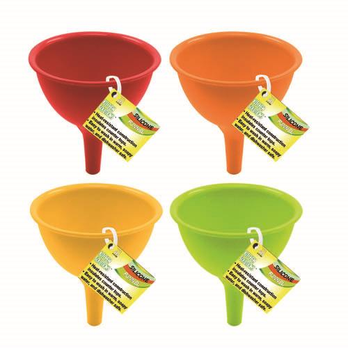 Wholesale SILICONE COLLAPSIBLE FUNNEL