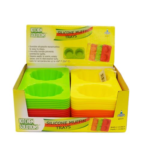 Wholesale SILICONE MUFFIN TRAYS