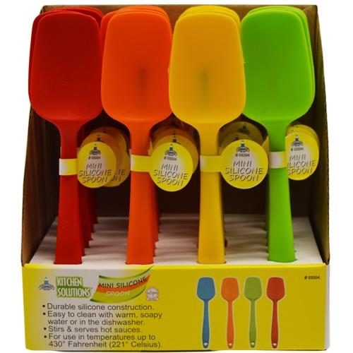 Wholesale MINI SILICONE SPOON