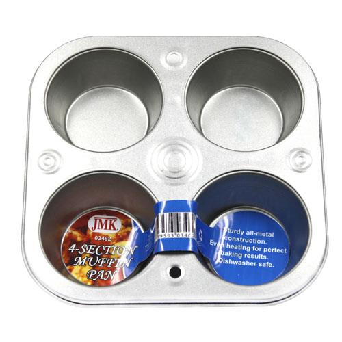 Wholesale 4-SECTION MUFFIN PAN