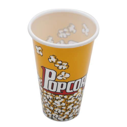 "Wholesale 4-1/2"" x 8"" POPCORN CUP"