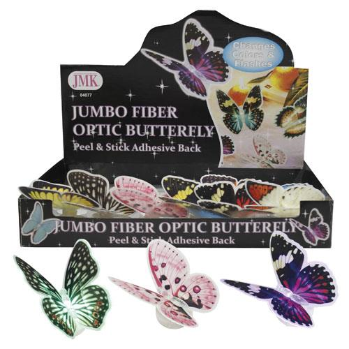 Wholesale JUMBO FIBER OPTIC BUTTERFLY