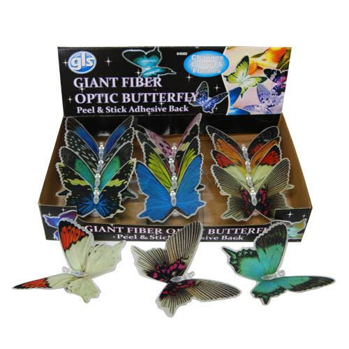 Wholesale GIANT FIBER OPTIC BUTTERFLY