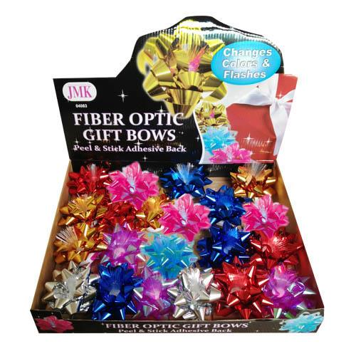 Wholesale FIBER OPTIC GIFT BOWS