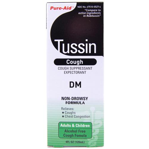 Wholesale Pure-Aid Tussin DM Cough Relief (Robitussin DM)