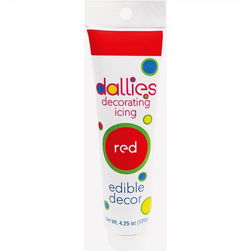 Wholesale Red Icing Decorating Tube  4.25 oz.