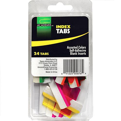 Wholesale LABELS ADHESIVE INDEX TABS 24