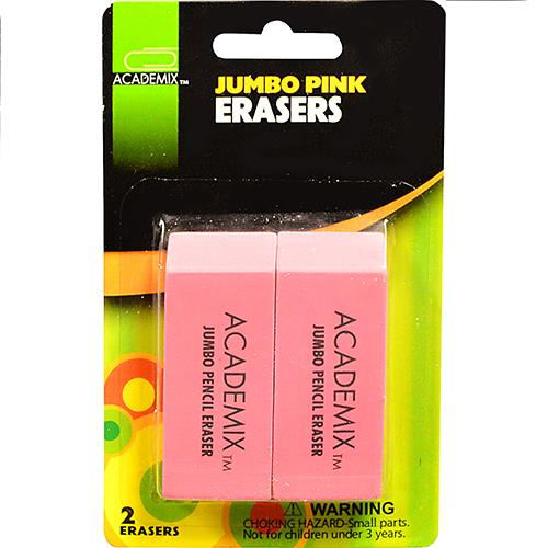 Wholesale 2CT JUMBO PINK ERASER