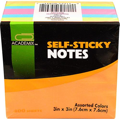 Wholesale STICKY NOTE 3 X 3 IN 400 CT