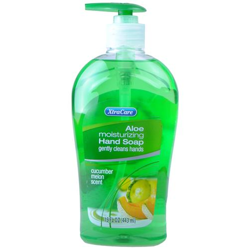 Wholesale XtraCare Liquid Hand Soap w/Pump Cucumber Melon