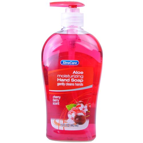 Wholesale XtraCare Liquid Hand Soap w/Pump Cherry Berry