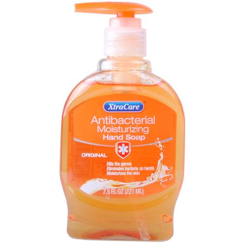 Wholesale XtraCare Anti Bacterial Liquid Hand Soap w/Pump Or