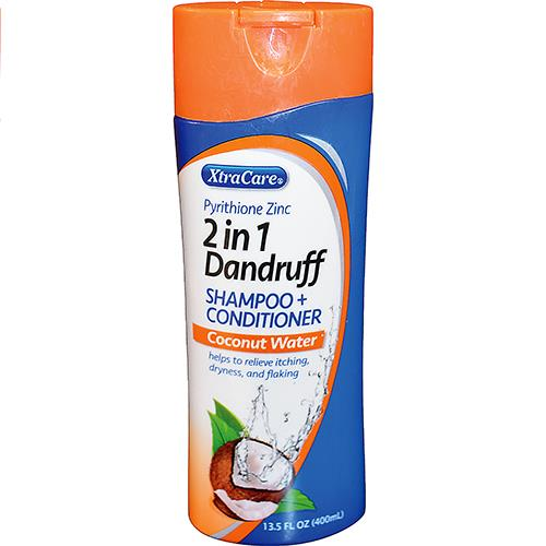 Wholesale Xtracare 2 in 1 Dandruff Shampoo & Conditioner Coconut Water