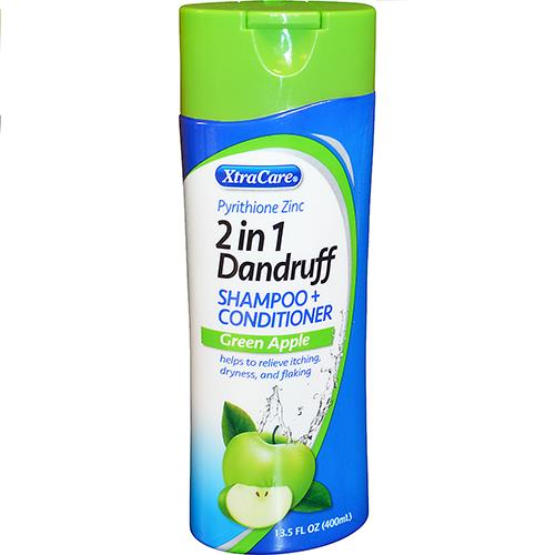 Wholesale Xtracare 2 in 1 Dandruff Shampoo & Conditioner Green Apple