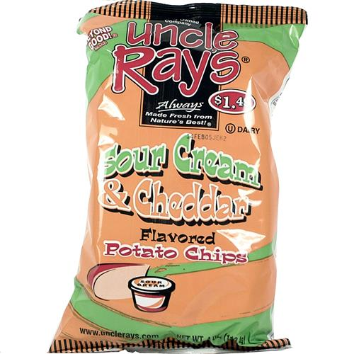 Wholesale Uncle Ray's Potato Chips Cheddar Sour Cream