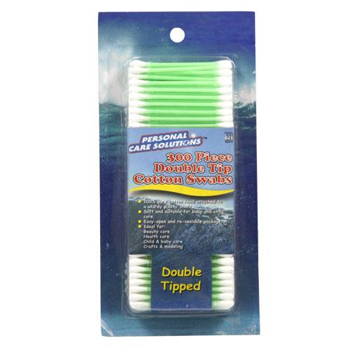 Wholesale 300pc DOUBLE TIP COTTON SWAB