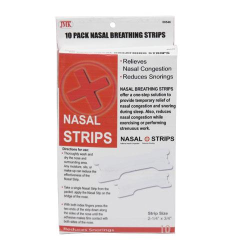 Wholesale 10pk NASAL BREATHING STRIPS