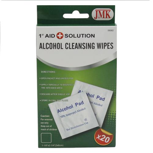 Wholesale 20pc ALCOHOL WIPES