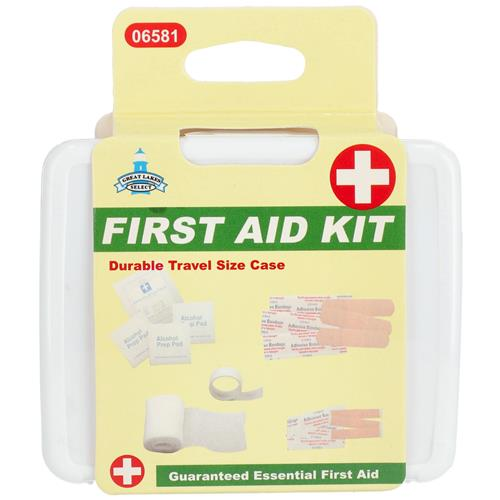 Wholesale FIRST AID KIT IN PLASTIC CASE