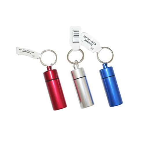 Wholesale ALUMINUM KEY RING PILL BOX
