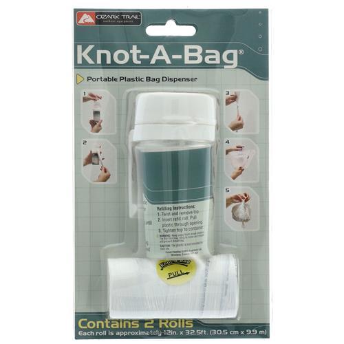 Wholesale KNOT-A-BAG BAG DISPENSER & 2 ROLLS OF BAGS