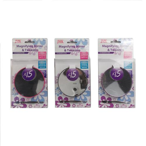 Wholesale MAGNIFYING MIRROR & TWEEZERS