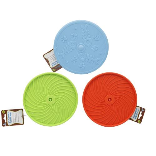 "Wholesale 8"" FLEXIBLE FLYING DISC SOFT RUBBER"