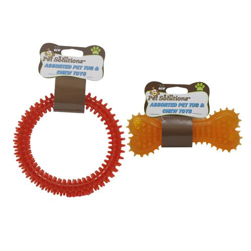 Wholesale ASST PET TUG & CHEW TOYS