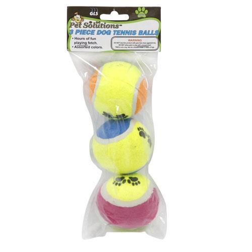 Wholesale 3pc DOG TENNIS BALLS