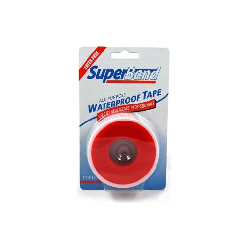 "Wholesale SuperBand Waterproof Adhesive Tape 1/2"" x 10Yar"