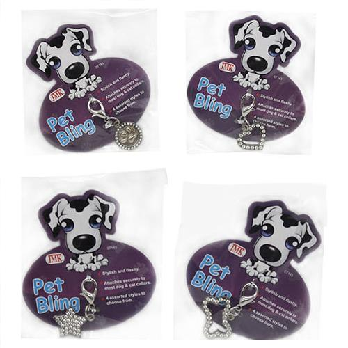 Wholesale PET BLING COLLAR TAGS