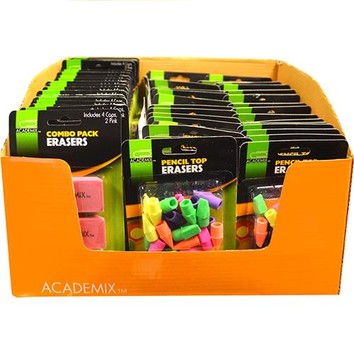 Wholesale ERASER 30CT & 6 CT ASSORTMENT
