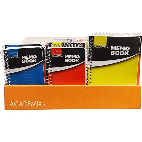 Wholesale MEMO BOOK MINI SPIRAL BOUND AS