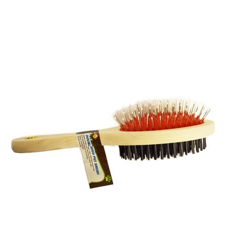 Wholesale DOUBLE SIDED  PET BRUSH