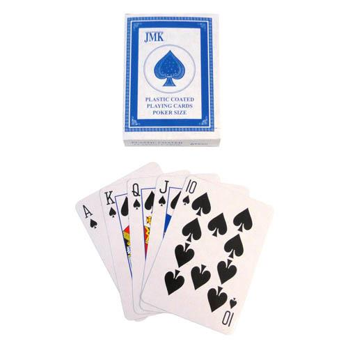 Wholesale PLAYING CARDS PLASTIC COATED