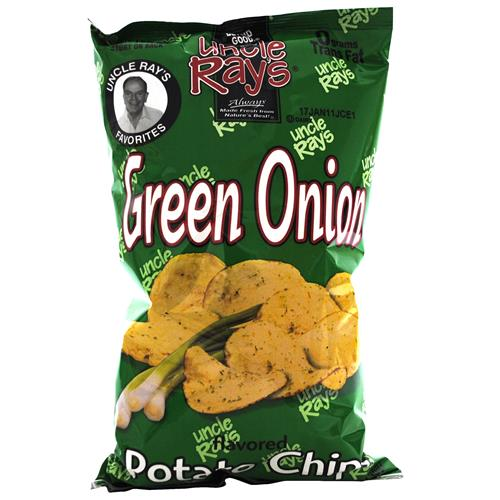 Wholesale Uncle Ray's Potato Chips Green Onion